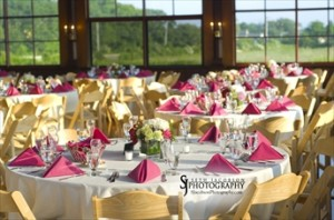 The Bunaglow setup for a wedding