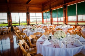 The Bungalow setup for a wedding